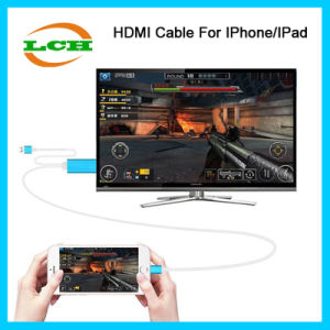 2016 Newest Product HD HDMI HDTV Adapter for iPhone 6 pictures & photos