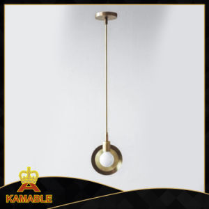 Modern Concise Style Circle Metal Pendant Lamps (KAP6079) pictures & photos