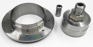 Custom Metal Fabrication Machined Turning Parts From Stainless Steel pictures & photos