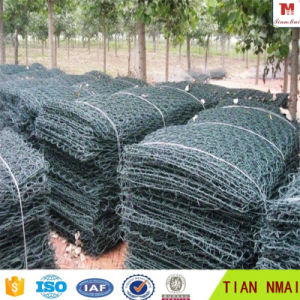 PVC Coating Gabion Box Basket with ISO9001 Certificate pictures & photos