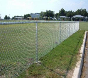 Galvanized & PVC Coated Chain Link Fence, Diamond Wire Mesh pictures & photos