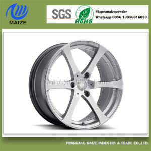 Silver Powder Coating for Aluminum-Alloy Wheel pictures & photos