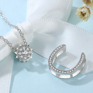 New Fashion for Wowen Chain Brass White Gold Necklace Jewelries pictures & photos