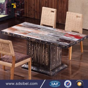 2017 Whole Sale Antique Dining Table for Restaurant Sbe-CZ0631 pictures & photos