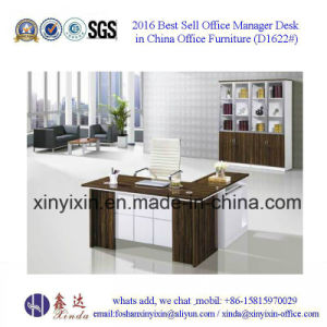 Staff Office Table Made in China Wooden Furniture (D1622#) pictures & photos