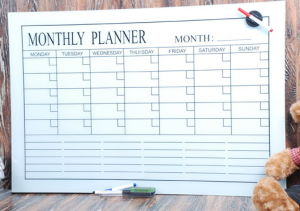 Weekly/Monthly/Yearly Magnetic Glass Calendar Whiteboard with En71/72/73 pictures & photos