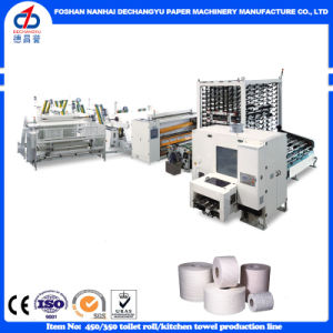 Ce Certification Automatic High Speed Toilet Paper Machine Production Line pictures & photos