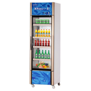 Wholesale Three-Side Cooling Opening Single Door Upright Freezer pictures & photos