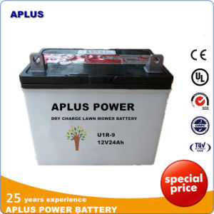 U1r-9 12V 24ah Lead Acid Storage Batteries for Lawn Mower pictures & photos