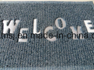 Double Color Foot Clean Mat Anti-Slip Floor Mat pictures & photos