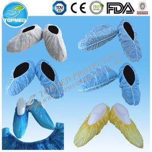 Disposable Plastic Shoe Cover, CPE Shoe Cover, Rain Shoe Cover pictures & photos