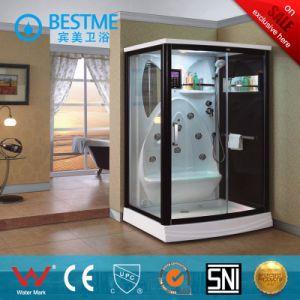 Luxury Steam Sauna Indoor Steam Sauna Family Sauna Room (BZ-5008) pictures & photos