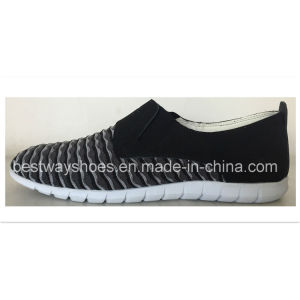 Comfortable Shoes Slip-on Shoes Sport Shoeswith Flyknit Upper pictures & photos