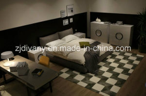 American Style Home Bed Leather Bed Furniture (A-B42) pictures & photos