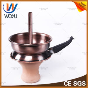 BBQ Carbon Bowl Shisha Nargile Charcoal Bowl Stainless Steel with Clay Bowl Hookah pictures & photos