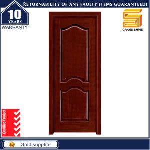 Custom Wooden Fireproof Security Interior Solid Wood Panel Door pictures & photos