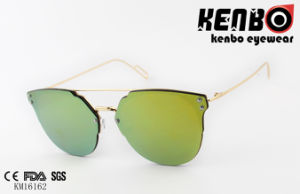 Zero Based Fashionable Metal Sunglasses Km16162 Lens Over Frame Design pictures & photos