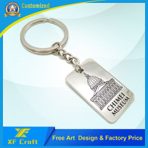 Factory Price Custom Antique Brass Metal Key Ring for Souvenir (XF-KC04) pictures & photos
