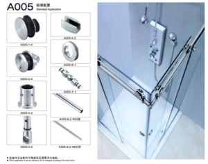 Stainless Steel Roller of Glass Door, Sliding Door Hinge pictures & photos