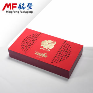 Beautiful Retro Chinese Style Plastic Red Gift Display Box pictures & photos