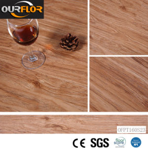 "Self-Adhesive PVC Vinyl Flooring Tiles / Glue-Free PVC Floor (36""X6"", 2mm) pictures & photos"