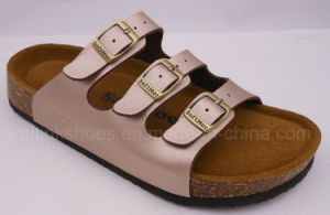 2017cork Sandal Cork Shoes Cork Slipper Birken Stock Sandal pictures & photos