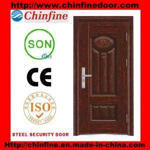 2017 New Style Door Steel Security Door (CF-130) pictures & photos