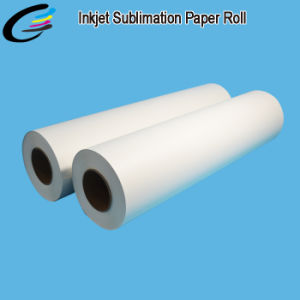 100GSM 0.61*100m Inkjet Printing Roll Sublimation Paper Wholesale for Fabric Printing pictures & photos