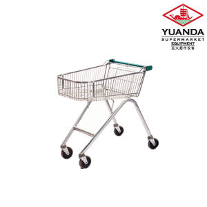 90L Shopping Trolley with Good Quality pictures & photos