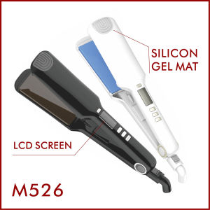 Factory Supply LCD Display Negative Ions Ceramic Flat Iron Hair Straightener pictures & photos