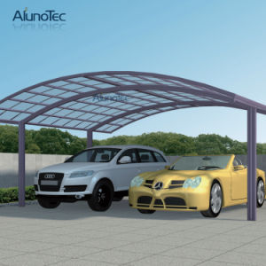 2016 Modern Double Aluminum Carport for 2 Cars pictures & photos