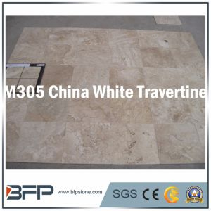 China White Travertine Floor & Wall Tile for Interior & Exterior Facade Wall Cladding pictures & photos