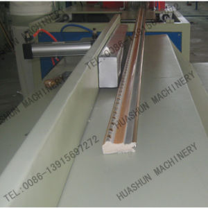 PS Foam Picture Frame Making Machine Hot Stamping pictures & photos