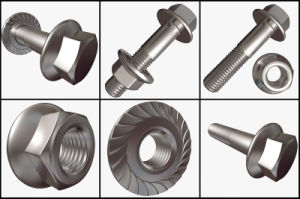 Stainless Steel Hex Head Alloy 601 Hex Bolt and Nut pictures & photos