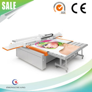 Full-Color Art Works Making UV LED Flatbed Printer pictures & photos
