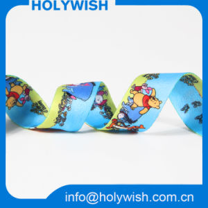 Sublimation Double Face Printing Pattern Ribbon with Animated pictures & photos