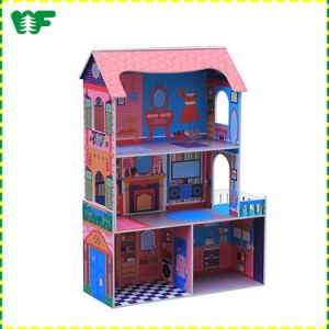 New Children Wooden DIY Doll House Children′s pictures & photos