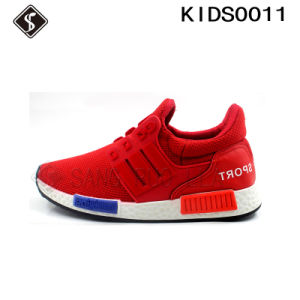 Kids and Children Injection Sports Running Shoes pictures & photos