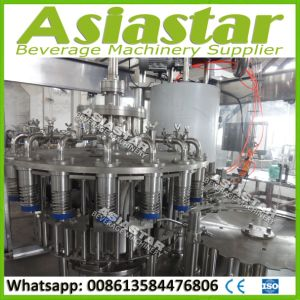 Pet Bottle Hot Drinks Filling Machine Juice Packing Production Line pictures & photos