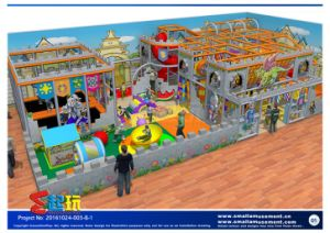 Castle Warriors Themed Amusement Park with Tul Certificates
