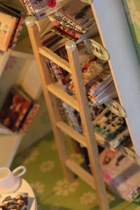 Educational DIY Wooden Music Doll House New Products pictures & photos