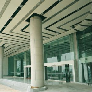Indoor Use Curtain Ceiling Aluminum Curtain Wall Panel with PVDF Coating 20 Year Guarantee Fireproof pictures & photos