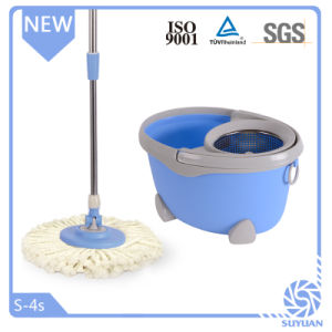 Double Devices Stainless Steel Basket 360 Spin Mop pictures & photos
