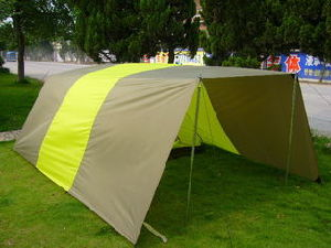 Camping Tent with a Wing for 3-4 Person pictures & photos