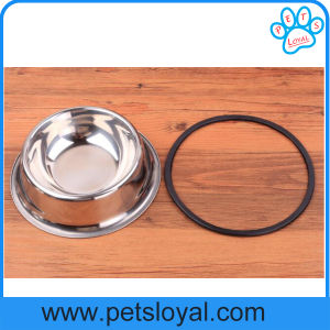 Factory Stainless Steel Cheap Pet Dog Feeder Bowl pictures & photos