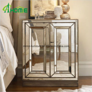 Bedroom Furniture Handmade Mirrored Nightstand/Mirrored Bedside Table pictures & photos