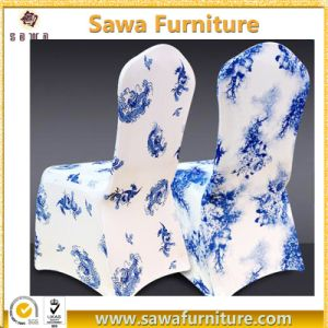 Spandex Polyester Universal Chair Cover for Wedding Hotel Event pictures & photos