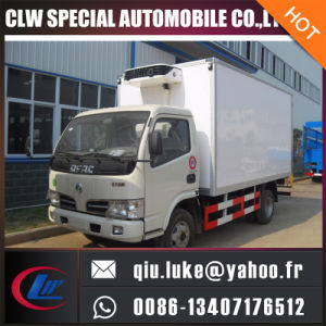 Dongfeng 4X2 95HP 5-10 Tons Refrigerated Van Freezer Truck for Sale in Dubai pictures & photos