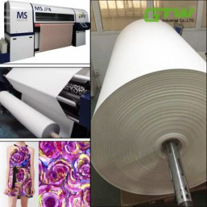 "60"", 63"", 64"" Great Quality 90g Anti-Curl Fast Dry Sublimation Paper for Plotter-Based Printing pictures & photos"