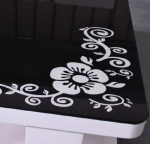 Custom Glass Table Tops / Tempered Silk Screen Printing Glass pictures & photos
